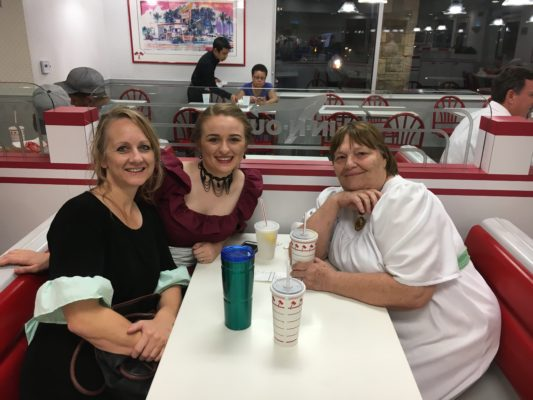 Ladies at In N Out